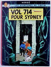 BD ALBUM TINTIN - VOL 714 POUR SIDNEY - 2è tirage 1968 B37 - HERGE  TBE-