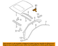 VOLVO OEM 01-09 S60 Roof-Drip Molding Clip 8622907