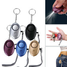 5 Pack Safe Sound Personal Alarm Keychain With LED Light, 140DB Emergency