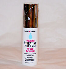 Hard Candy Sheer Envy Hydrating Primer Mist 12Hr Power Makeup Setting Spray -