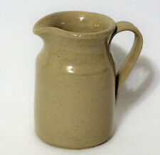 "Vtg Moira Stoneware Pottery Studio Handcrafted 6"" Jug Pitcher Creamer England"