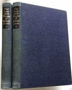 Complete Poems ROBERT FROST Limited Editions Club SIGNED FIRST EDITION 1950