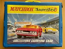 Matchbox Lesney Superfast - 48 Car Collectors Carry Case - Amazing Condition