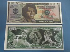 JAMES BROWN: Entertainer & Godfather of Soul >^< $1,000,000 One Million Dollars