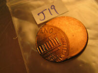 Major Error USA Lincoln Penny Miss Struck Off Centre Planchet Error IDJ19.