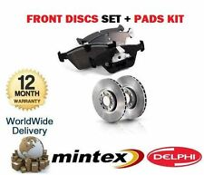 FOR KIA CEED 1.4 1.6 2.0DT CRDi 2006-> FRONT BRAKE DISCS + DISC PADS SET
