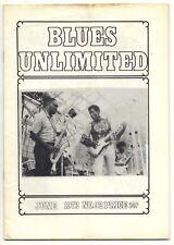 BLUES UNLIMITED Magazine No 92 June 1972 John Funchess Bobby Guitar Bennett