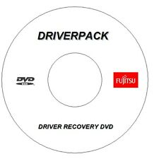 FUJITSU PC Laptop Driver Disc recupero driver per Windows 7 8 10 32 / 64 Bit DVD