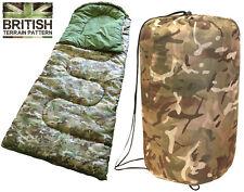 Esercito Combattimento Per Bambini Ragazzi Viaggio Mimetico Mummia Sacco a Pelo Campeggio Festival