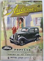 The AUTOCAR 20 Dec 1935 Original Motoring Car Magazine