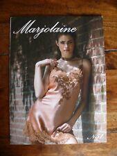 MARJOLAINE 52 Seiten Farbdruck Katalog Lookbook 51 Nachtwäsche Negligées