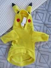 New Pikachu Costume Pet Clothing Super Cute For Little Puppies