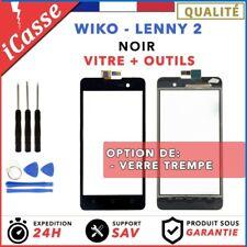 Vitre / Ecran tactile Wiko Lenny 2 Noir + Outils
