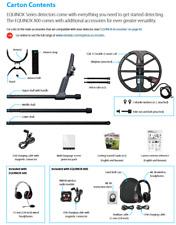 Minelab Equinox 800 Metal Detector Pkg & Waterproof Headphones