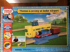 Thomas & Jeremy at Sodor Airport Thomas the Train TrackMaster motorized set