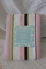 "Bathology 101 Piano Stripe Fabric Shower Curtain 72"" x 72"" NIP"