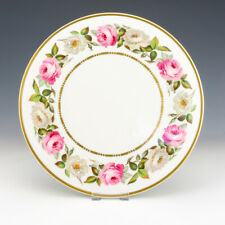 Royal Worcester Porcelain - Royal Garden Pattern Cake Plate - Boxed!