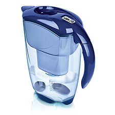 Brita Elemaris Cool 2.4l Fridge Water Filter Jug - Blue