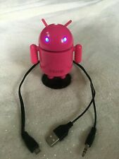 Pink iHome Mini Android Robot Speaker