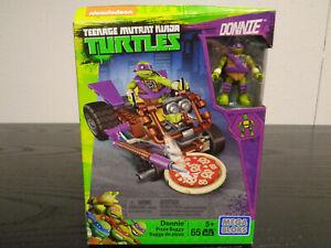 MEGA BLOKS Donnie Teenage Mutant Ninja Turtles Pizza Buggy 65 Pieces 2016