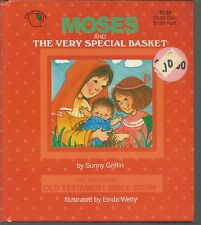 Moses and The Very Special Basket Sunny Griffin, Linda Welty HC 1994