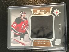 2015-16 Ultimate Collection Jumbo Materials #JMMB Martin Brodeur Patch Devils
