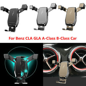 Car Phone Holder Navigation Mount Support For Benz CLA GLA A-Class B-Class Car