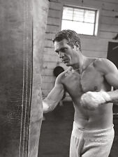 Time Life - Steve McQueen - Boxing - Ready Framed Canvas 30x40cm