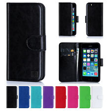 NEW LEATHER WALLET CASE COVER FOR APPLE IPHONE 4 /4S 5/6 Plus