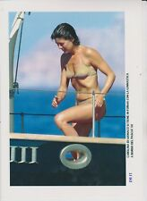 Caroline DE MONACO SEXY MAILLOT PLAGE Photo Presse Originale