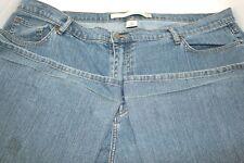VENEZIA Lane Bryant Flare Jeans Plus Size 26 Tall Medium Wash