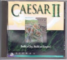 Caesar II 2 by Sierra Building Simulation PC Game CD-ROM Free USA Shipping!