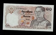 New listing Thailand 10 Baht ( 1980 ) Sign. 53 Pick # 87 Unc.