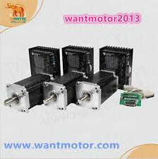 Wantai 3Axis Nema42 Stepper Motor201mm 8A 4200oz-in&Driver DQ2722MA Cutting Mill