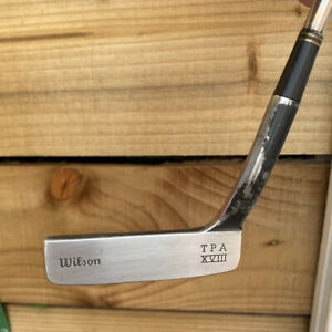 Wilson TPA XV111. Right Handed Steel Shafted Putter.