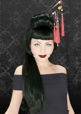 Ladies Gothic Black China Girl Wig