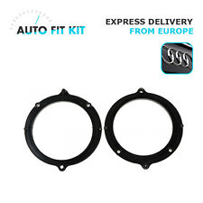 "Audi A4 ->2001 Car Speaker Adapter Adaptor Rings 13 cm 130 mm 5.25"" Front Doors"