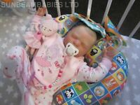"REBORN 💖REALBORN DOLL 20"" BABY GIRL EMMA WITH COA BY DAN. SUNBEAMBABIES 💕 GHSP"
