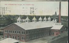 MT. PLEASANT MICHIGAN CONDENSED MILK FACTORY PM 1909 DAIRY  (DR26)