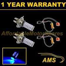 2x H4 Blue 120 Led Frontal principal de irradiación & húmedas Beam Faros Kit De Xenon hm501003