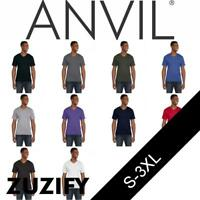 Anvil Lightweight Fashion V-Neck T-Shirt. 982