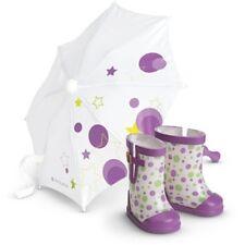 AG American Girl McKenna's NIB Rain Gear Umbrella  Doll Year Gymnastics Retired
