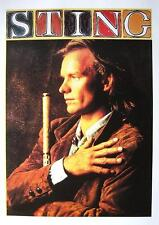 """STING POSTER """"UNPLUGGED"""""""