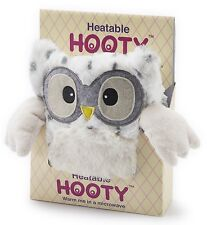 Intelex Hooty Owl Snowy Microwavable Bed Time Warmer Heatable Soft Toys Gift
