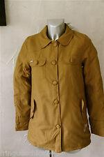 manteau moutarde KANABEACH dustypink Taille 38  NEUF ÉTIQUETTE valeur 139€