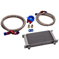 19 Row AN10 Universal Engine Oil Cooler+Filter Adapter Kit 01EGF002EBK
