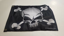 18X24 Skull / Cross Bones Utv Whip Flag