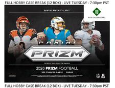 Philip Rivers Colts 2020 PRIZM FOOTBALL HOBBY 1 CASE 12 BOX Player Break