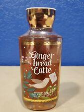 Bath & Body Works Ginger Bread Latte Shower Gel 10 Fl Oz New