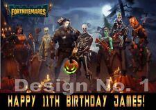 FortniteGaming Monsters Personalised Large Birthday Card Son Daughter Dad